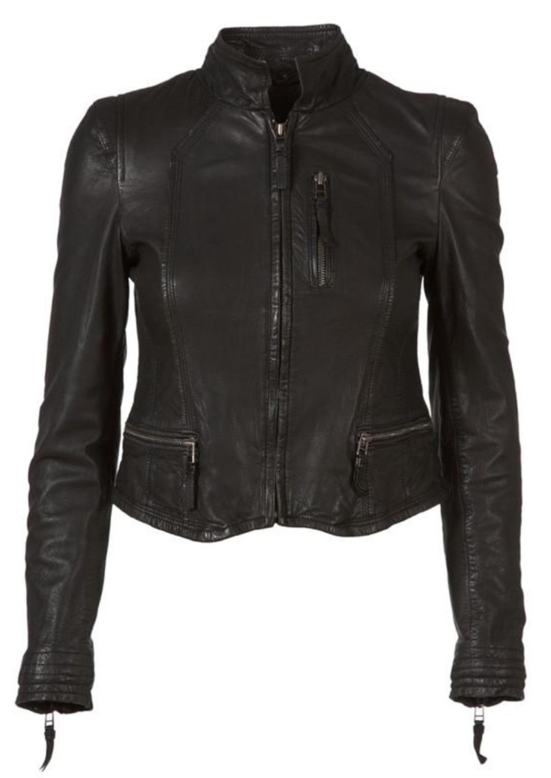 MDK Rucy Leather Jacket - Black main image