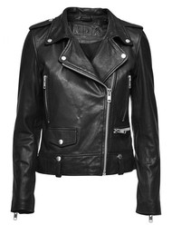 MDK Seattle Leather Jacket - Black