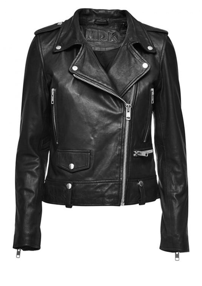 MDK Seattle Leather Jacket - Black main image