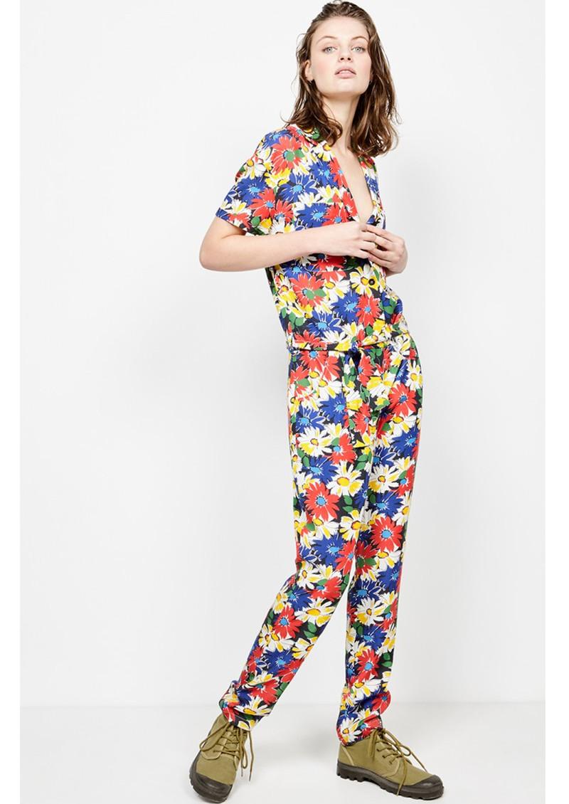 American Vintage Nalastate Jumpsuit - Pop Flower main image