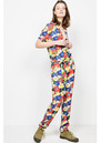 American Vintage Nalastate Jumpsuit - Pop Flower