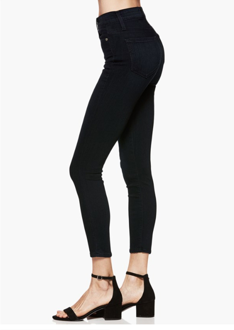 Paige Denim Margot Crop Ultra Skinny Jeans - Tonal Mona main image
