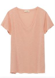 American Vintage Jacksonville Short Sleeve T-Shirt - Blush