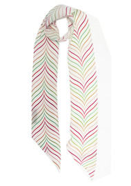 ROCKINS Super Skinny Silk Scarf - Bakewell