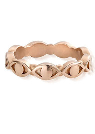ChloBo Evil Eye Ring - Rose Gold