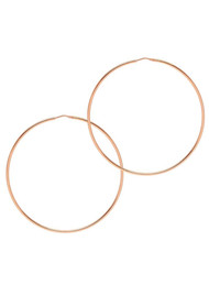 GEORGIANA SCOTT & THE HOOP STATION La Chica Latina Earrings - Rose Gold