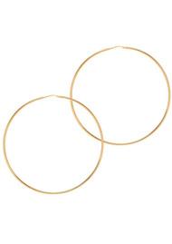 GEORGIANA SCOTT & THE HOOP STATION La Chica Latina Earrings - Gold