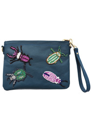 TEA & TEQUILA Sayulita Bug Bag - Marine Blue