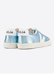 VEJA ESPLAR LEATHER TRAINERS - Iceberg White