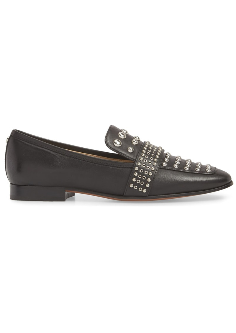 Sam Edelman Chesney Studded Loafer - Black main image