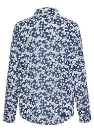 SAMSOE & SAMSOE Milly AOP Shirt - Blue Daisy