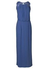 SAMSOE & SAMSOE Willow Long Dress - Blue Depths