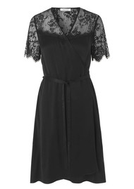 SAMSOE & SAMSOE Simona Lace Dress - Black