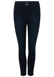 Paige Denim Margot Crop Ultra Skinny Jeans - Tonal Mona