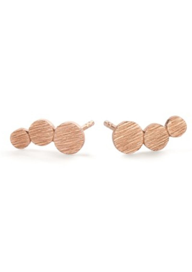 PERNILLE CORYDON Small Multi Coin Earrings - Rose Gold main image