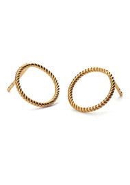 PERNILLE CORYDON Twisted Earsticks - Gold