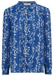 Ba&sh Fiona Shirt - Blue