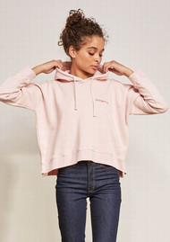MAISON LABICHE Awesome Hoodie - Heather Pink