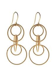 PERNILLE CORYDON Twisted Earrings - Gold