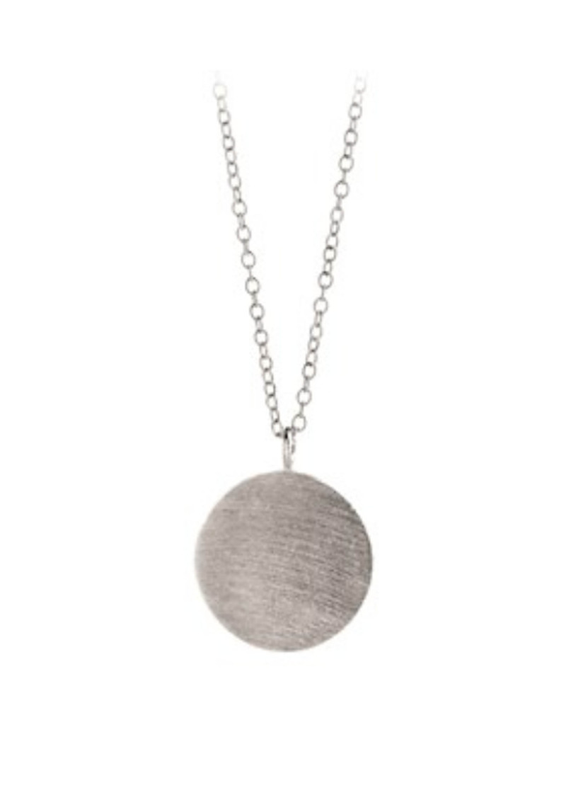 Coin Necklace - Silver main image