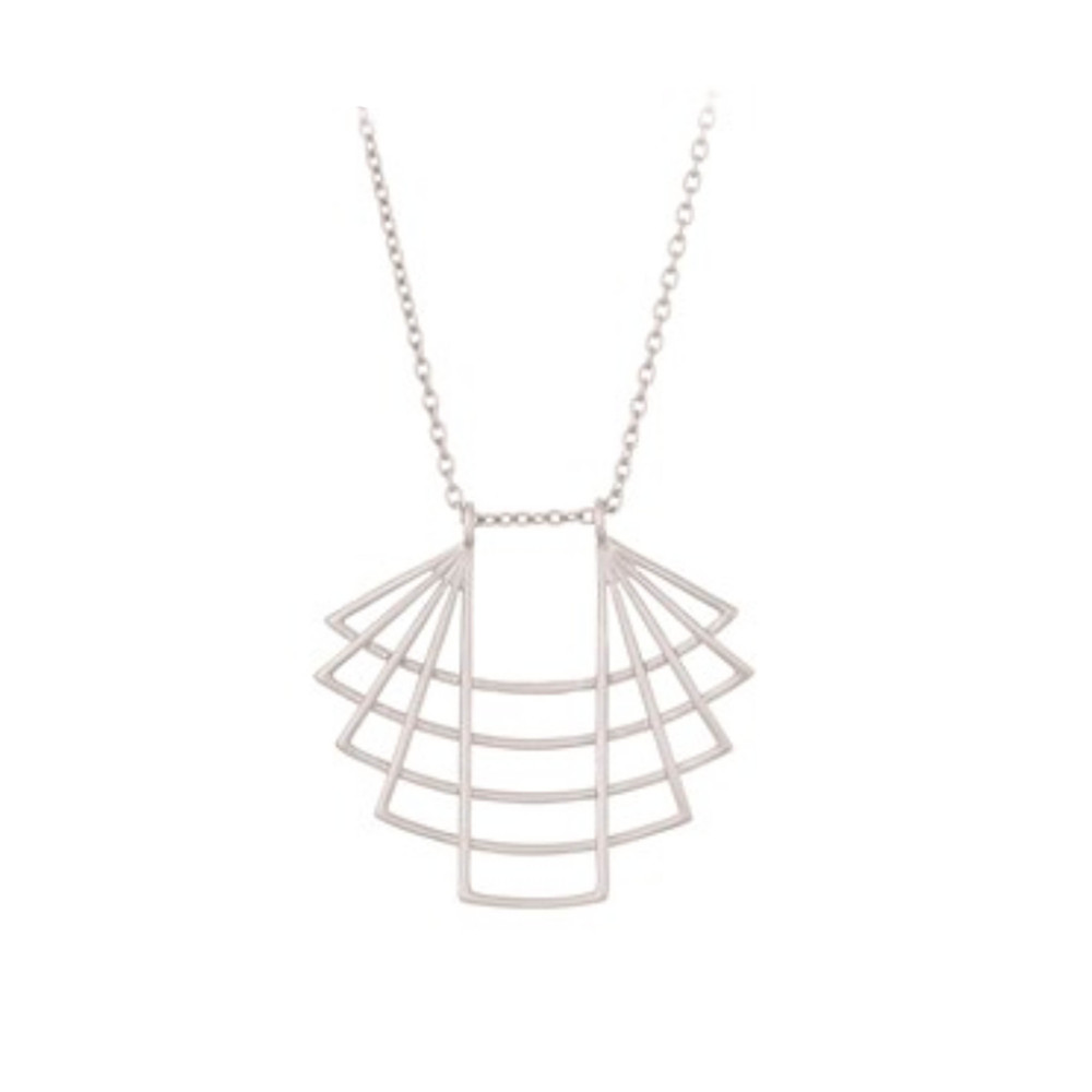 Trace Necklace - Silver