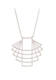 PERNILLE CORYDON Trace Necklace - Silver