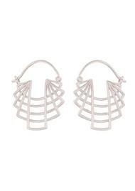 PERNILLE CORYDON Trace Earrings - Silver