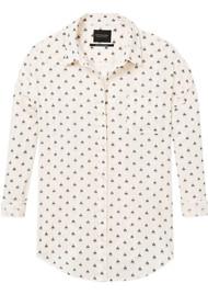 Maison Scotch Oversized Cotton Shirt - White