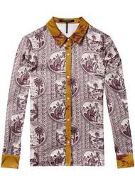 Maison Scotch Mixed Print Shirt - Combo A