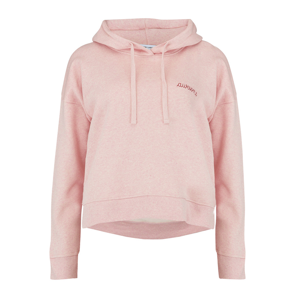Awesome Hoodie - Heather Pink