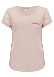 MAISON LABICHE Awesome Cotton Tee - Heather Pink
