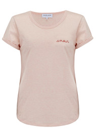 MAISON LABICHE Amour Tee - Heather Pink
