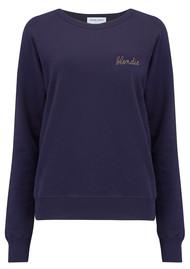 MAISON LABICHE Blondie Sweater - Deep Blue
