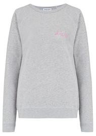 MAISON LABICHE Oh La La Sweater - Heather Grey
