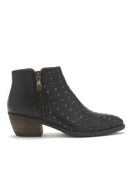 KANNA Borba Leather Boots - Black