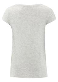 American Vintage Jacksonville Short Sleeve T-shirt - Polar Melange