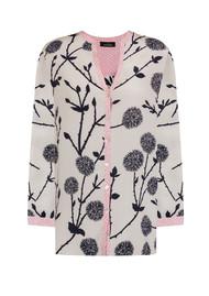 Mercy Delta Hale Long Sleeve Silk Blouse - Rose Circles
