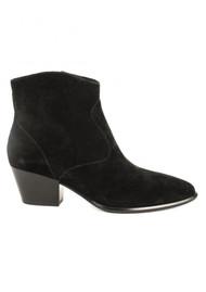 Ash Heidi Bis Suede Boots - Black
