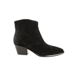 Heidi Bis Suede Boots - Black