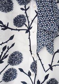 Mercy Delta Blaise Silk Neck Tie Blouse - Rose Clover