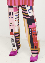 STINE GOYA Vinnie Trousers - City Print