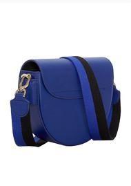 Liebeskind Mixed Saddle Bag - Deep Blue
