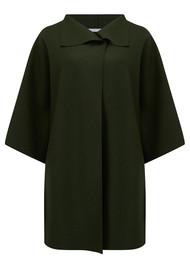 HARRIS WHARF Kimono Mantle - Military