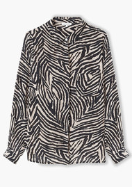Lily and Lionel Daria Shirt - Zebra Putty