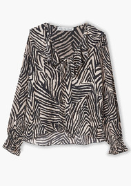 Lily and Lionel Joni Top - Zebra Putty