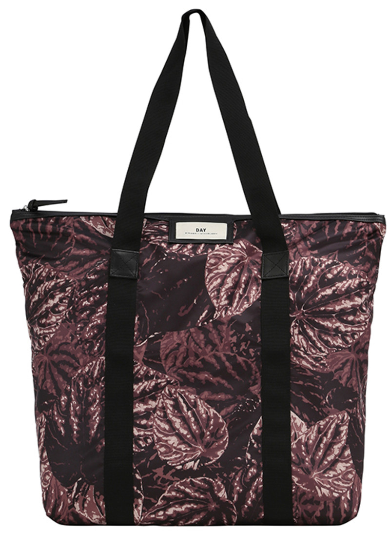 Day Birger et Mikkelsen  Day Gweneth P Foliole Bag - Dark Taupe main image