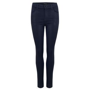 Maria High Rise Skinny Coated Jeans - Electric