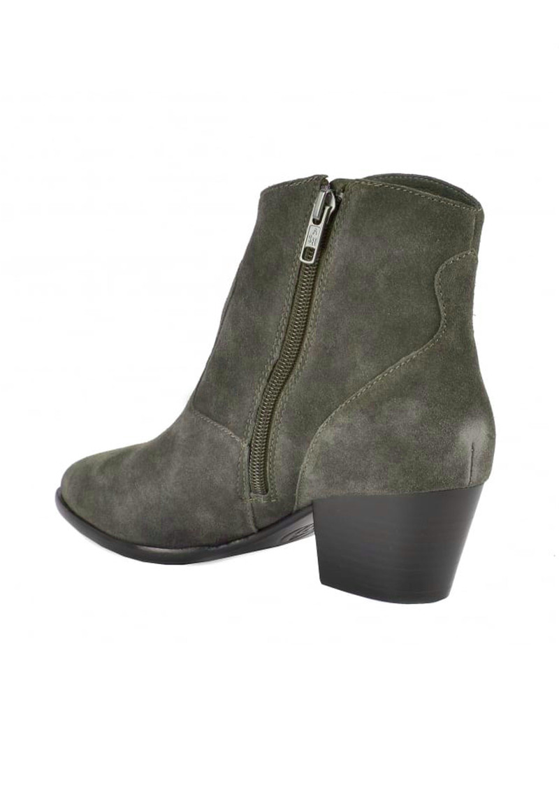 Ash Heidi Bis Suede Boots - Military main image