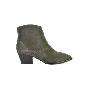 Heidi Bis Suede Boots - Military