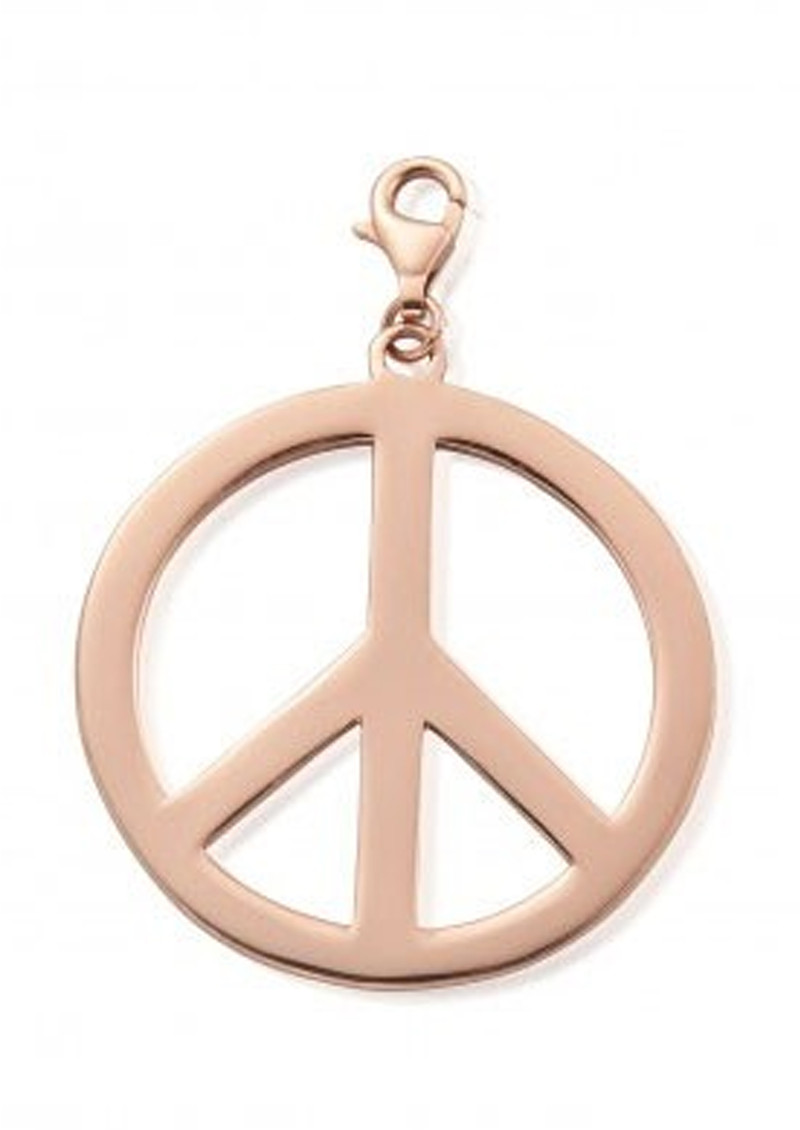 ChloBo Large Peace Pendant - Rose Gold main image